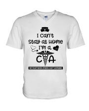 I Can't Stay At Home I'm A CNA  V-Neck T-Shirt thumbnail