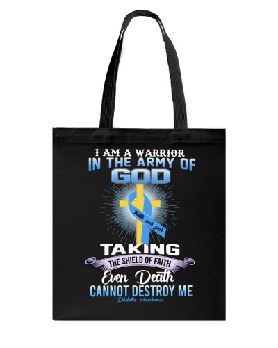 I Am A Warrior In The Army Of God