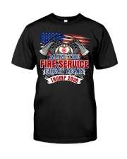 Firefighter - Fight For Life Classic T-Shirt front