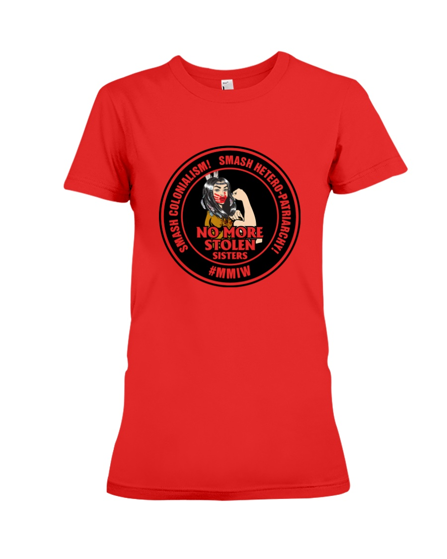 No More Stolen Sisters 4 - MMIW Premium Fit Ladies Tee