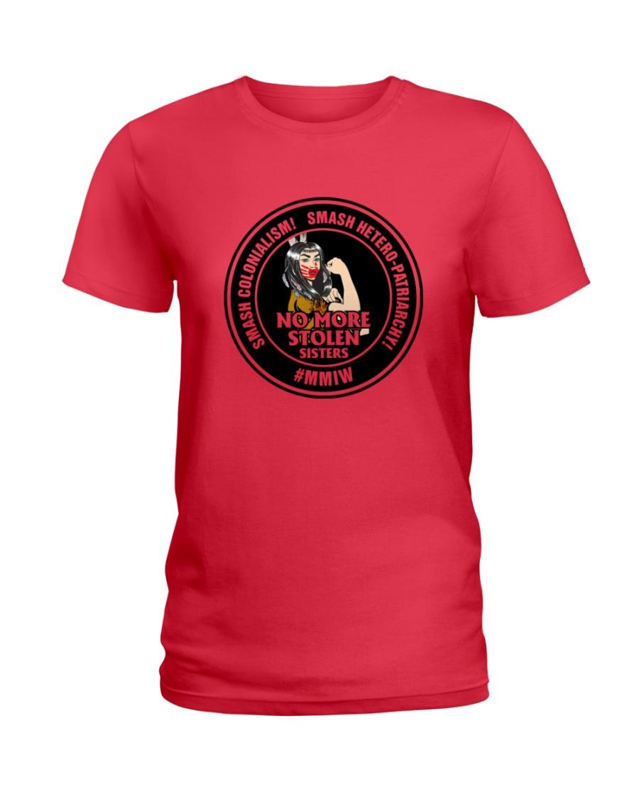 No More Stolen Sisters 4 - MMIW Ladies T-Shirt