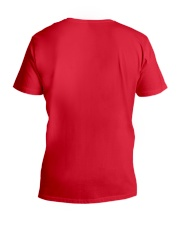 No More Stolen Sisters 4 - MMIW V-Neck T-Shirt back