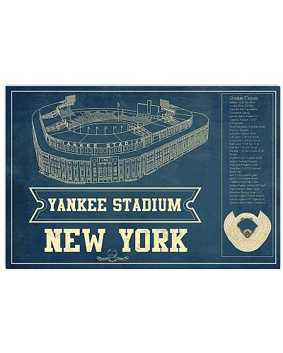 The Yanks Stadium Details Chalkboard