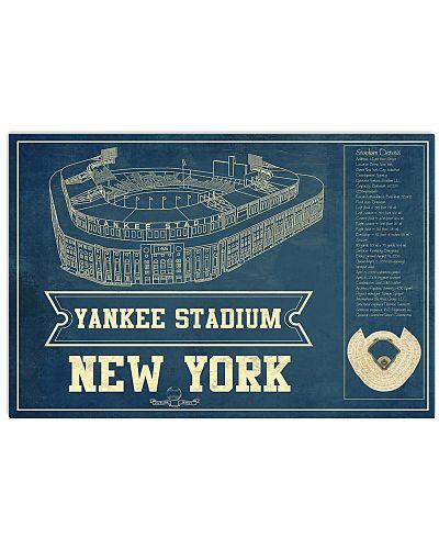 The Yanks Stadium Details Chalkboard