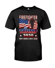 Firefighter Will Fight Classic T-Shirt front
