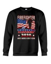 Firefighter Will Fight Crewneck Sweatshirt thumbnail
