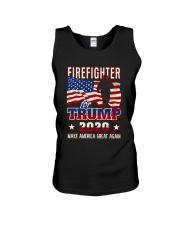 Firefighter Will Fight Unisex Tank thumbnail
