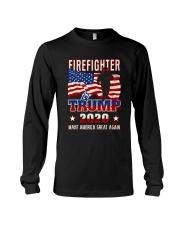 Firefighter Will Fight Long Sleeve Tee thumbnail