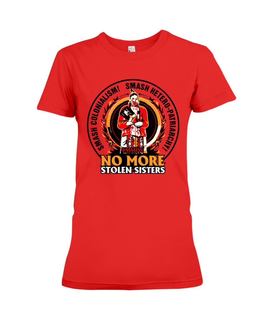 No More Stolen Sisters 3 - MMIW Premium Fit Ladies Tee