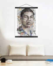 Basketball Limited Edition 001 16x20 Black Hanging Canvas aos-hanging-canvas-16x20-lifestyle-front-01