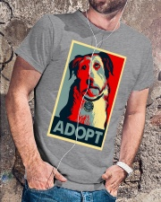Carrie's Obey Adopt a Tee Classic T-Shirt lifestyle-mens-crewneck-front-4