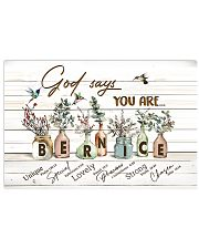 God says you are - Bernice 17x11 Poster front