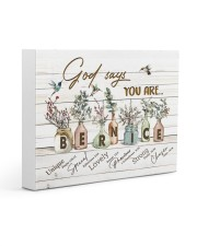 God says you are - Bernice Gallery Wrapped Canvas Prints tile