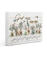 God says you are - Adrianna Gallery Wrapped Canvas Prints tile