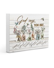 God says you are - Ashlyn Gallery Wrapped Canvas Prints tile