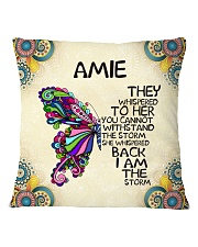 Amie Square Pillowcase front