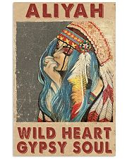 Aliyah - Wild heart - Gypsy soul 11x17 Poster front