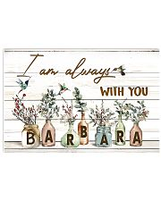 I am always with you - Barbara Horizontal Poster tile