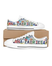 ANA PATRICIA - LY203 Women's Low Top White Shoes inside-left-outside-left