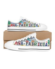 ANA PATRICIA - LY203 Women's Low Top White Shoes inside-right-outside-right