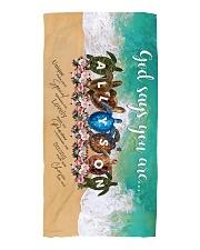 Allyson BT01 Beach Towel front