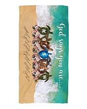 Kristen BT01 Beach Towel front