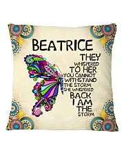Beatrice Square Pillowcase front