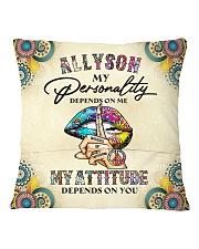Allyson Square Pillowcase back