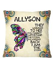 Allyson Square Pillowcase front