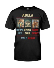 Adela Hippie Life Classic T-Shirt front