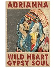 Adrianna - Wild heart - Gypsy soul 11x17 Poster front