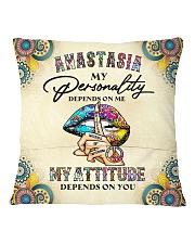 Anastasia Square Pillowcase back