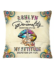 Ashlyn Square Pillowcase back
