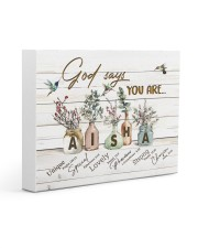 God says you are - Aisha Gallery Wrapped Canvas Prints tile