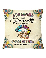 Adrianna Square Pillowcase back