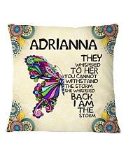 Adrianna Square Pillowcase front