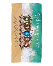 Alyson BT01 Beach Towel front