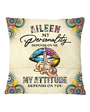 Aileen Square Pillowcase back
