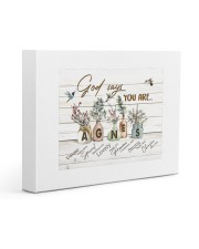God says you are - Agnes Gallery Wrapped Canvas Prints tile