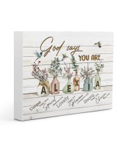 God says you are - Alexia Gallery Wrapped Canvas Prints tile