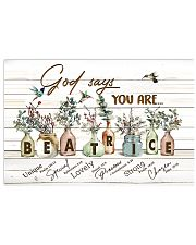 God says you are - Beatrice 17x11 Poster front
