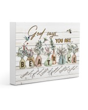 God says you are - Beatrice Gallery Wrapped Canvas Prints tile