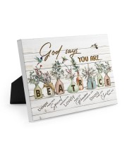 God says you are - Beatrice Easel-Back Gallery Wrapped Canvas tile