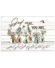 God says you are - Bessie 17x11 Poster front