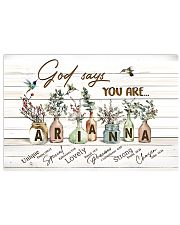 God says you are - Arianna 17x11 Poster front