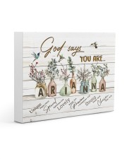 God says you are - Arianna Gallery Wrapped Canvas Prints tile