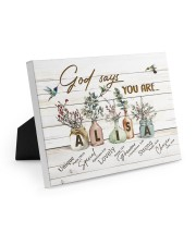 God says you are - Alisa Easel-Back Gallery Wrapped Canvas tile