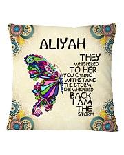 Aliyah Square Pillowcase front