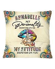 Annabelle Square Pillowcase back