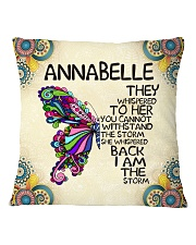 Annabelle Square Pillowcase front